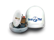 Sea Tel's new Coastal series satellite antennas now available from Acutec