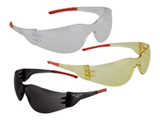 ACE safety glasses feature hard coated lenses, making them anti-scratch