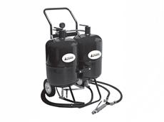 Portable soda blasters