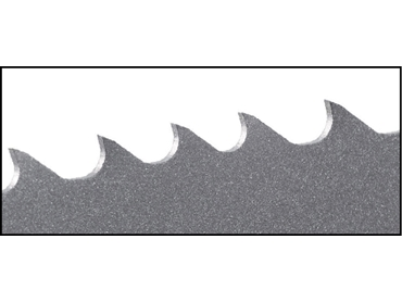 M42 Bi-Alfa Cobalt Profile Tooth Bandsaw Blades - Outstanding performance on tubes, pipe and other interruptive cuts.