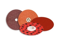 Cubitron II Roloc abrasive discs