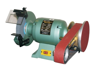 200mm Abbott & Ashby Bench Grinder with Linishall Attachment