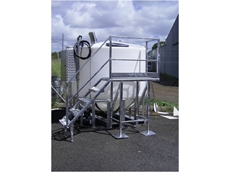 5400L Add-G-Tator fertigation system with operator platform