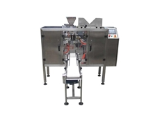 ADM mini doy pouch packaging machines offer speeds up to 20 bags per minute