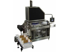 Fallas vertical robotic case packer and gravity drop packer