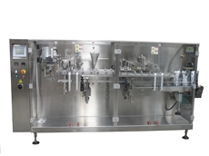 Stand up puch machines from ADM Packaging Technology