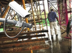 Companies can verify incidents at the workplace by examining footage from surveillance cameras