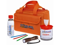 Sticklers fibre optic cleaning products