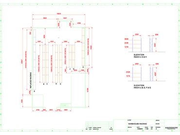 CAD Drawing Layout