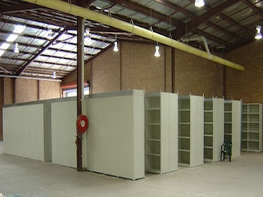Block of Roll Post Shelving
