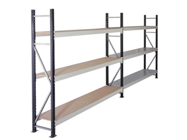 Run of Longspan Shelving