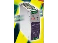 New MeanWell slim DIN rail power supplies from AJ Distributors