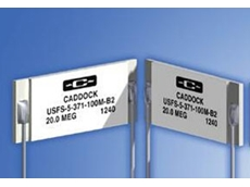 Type USFS high voltage, ultra-stable, low TC selected resistor sets from AJ Distributors