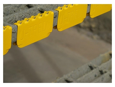 Stair treads for industrial and mining applications