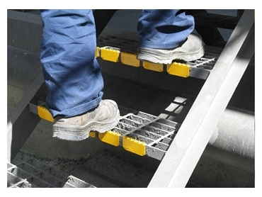 Anti-slip stair treads from AMCO