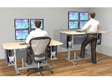 activConsole electric height adjustable control room consoles