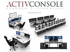 ​ActivConsole Ergonomic Security Surveillance Consoles & Workstations