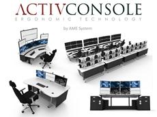 ActivConsole Ergonomic Security Surveillance Consoles & Workstations
