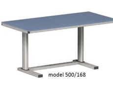 Electric Height Adjustable Workstation - ErgoMan model 500/168