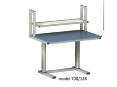 Electric Height Adjustable Workstation - ErgoMan model 700/128