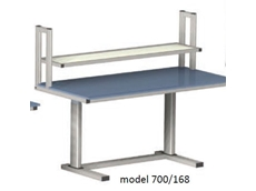 Electric Height Adjustable Workstation - ErgoMan model 700/168