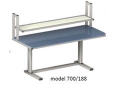 Electric Height Adjustable Workstation - ErgoMan model 700/188