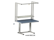 Electric Height Adjustable Workstation - ErgoMan model 800/128