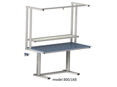 Electric Height Adjustable Workstation - ErgoMan model 800/168