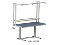 Electric Height Adjustable Workstation - ErgoMan model 800/168