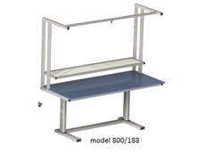Electric Height Adjustable Workstation - ErgoMan model 800/188