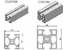 Extruded aluminium profiles