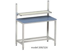 Fixed Height Workstations - ErgoStyle model 200/126
