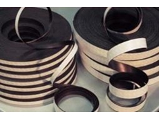 Flexible magnetic sheeting and tapes