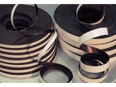 Flexible magnetic tapes, sheeting and strips from AMF Magnetics