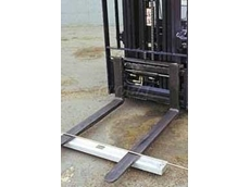 AMF forklift magnetic sweeper