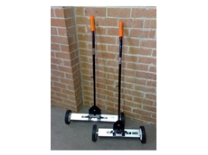 Magnetic Sweepers for easy and safe removal of metal material