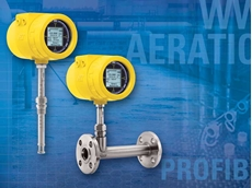 ST100 thermal mass flow meter