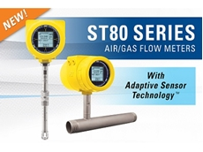 Breakthrough adaptive sensing tech in new ST80 thermal mass flow meter