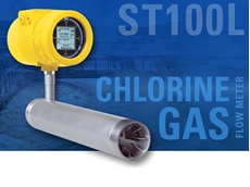 FCI ST100L thermal mass air/gas flow meter for municipal water disinfection