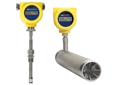 FCI's new and improved compact thermal flow meters with HART