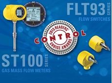 FCI has been selected by Control Magazine readers as the leading supplier of both thermal mass flow meters and flow switches