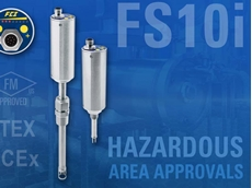 FS10i flow switch/monitor now approved for hazardous areas