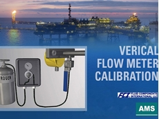 VeriCal in-situ calibration system verifies the accuracy of the ST100 flow meter's flare gas calibration in minutes