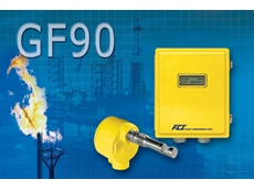 Flow meter measures flare gas for oil/gas offshore platforms and refineries