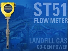 Measuring landfill gas accurately with ST51 flow meter