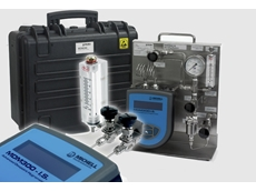 Compact sample systems for Michell's portable hygrometers