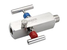 NOSHOK 2-valve block and bleed needle valves available from AMS Instrumentation and Calibration