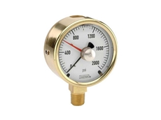 NOSHOK 300 series brass case gauges with optional 'Trouble Shooter' from AMS