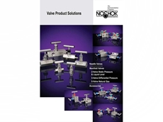 NOSHOK announces expanded valve offering and new catalogue