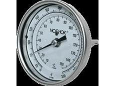 NOSHOK bimetal thermometers available from AMS Instrumentation and Calibration